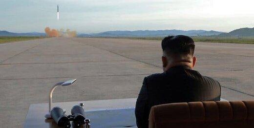 کره شمالی یک موشک بالستیک به سوی دریا شلیک کرد