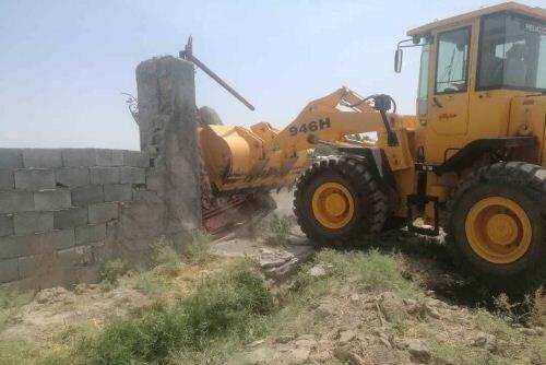 آزادسازی ۹هکتار اراضی کشاورزی در قزوین
