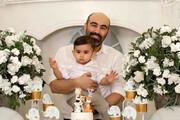 ببینید | شیرین کاری پسر محسن تنابنده در روز پدر