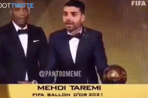ببینید   مهدی طارمی برنده توپ طلا شد