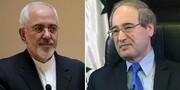 گفتگوی تلفنی وزرای خارجه ایران و سوریه