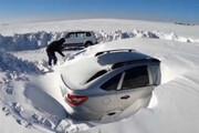 ببینید | تصاویر باورنکردنی از خودروها مدفون زیر برف سنگین روسیه