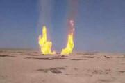 ببینید | انفجار خط لوله گاز در شمال شرق سوریه