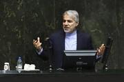 جدال لفظی نوبخت و نماینده تهران در مجلس/دفاع رئیس سازمان برنامه و بودجه از واعظی/ نماینده را به کذب گویی متهم می کنید؟