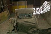 ببینید | کشف کالسکهای تشریفاتی متعلق به رم باستان در شهر سوخته پمپی