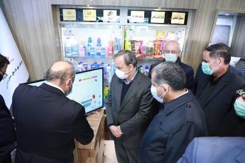 حضور وزیر صنعت در نمایشگاه توانمندی صنایع قزوین