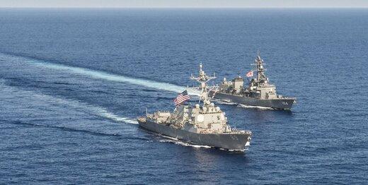 رزمایش آمریکا و یونان در خلیج فارس