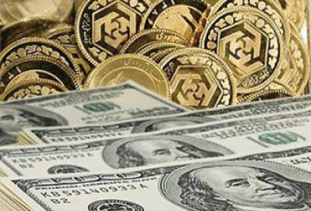 قیمت سکه، طلا و ارز ۹۹.۱۲.۰۹ / دلار بالا رفت، سکه در سراشیبی نرخ