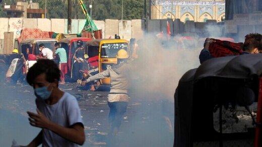 ششمین روز ناآرامیهای عراق/ زخمی شدن ۱۶ تن و تشکیل کمیته تحقیقات از سوی الکاظمی
