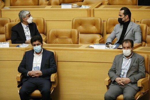 آشتی علی کریمی و آجرلو بعد از جنجال معروف/عکس