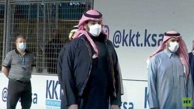 ظاهر شدن بن سلمان در انظار عمومی پس از انتشار قتل خاشقچی/عکس
