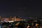 ببینید | مقابله پدافند هوایی سوریه با حمله رژیم صهیونیستی