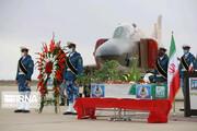 تصاویر | مراسم استقبال از پیکر مطهر خلبان شهید «بیرجند بیک محمدی»