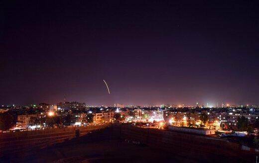 ببینید | حمله جنگندههای رژیم صهیونیستی به سوریه