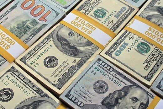 کاهش ارزش دلار در بازار