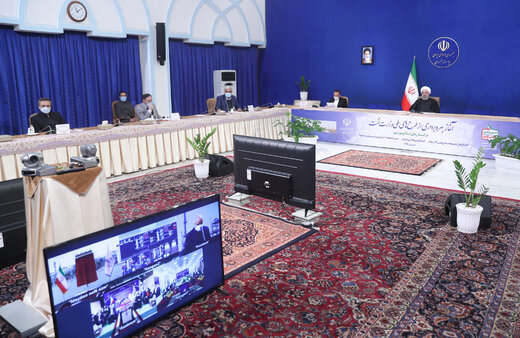 Pres. Rouhani inaugurates three national oil projects