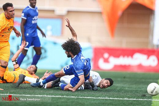 لیگ برتر فوتبال - دیدار تیمهای مس رفسنجان و استقلال