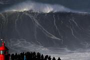ببینید | رکورد شکنی روی موج ۳۵ متری