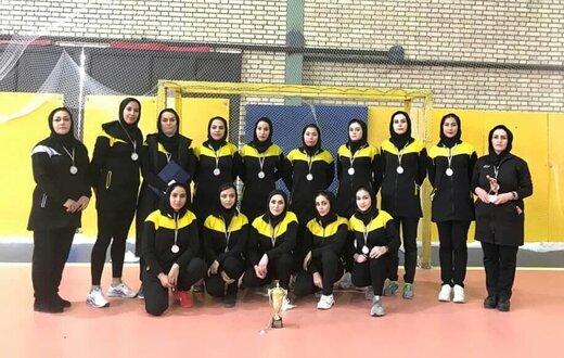 دختران همدان نایب قهرمان لیگ برتر هاکی کشور شدند