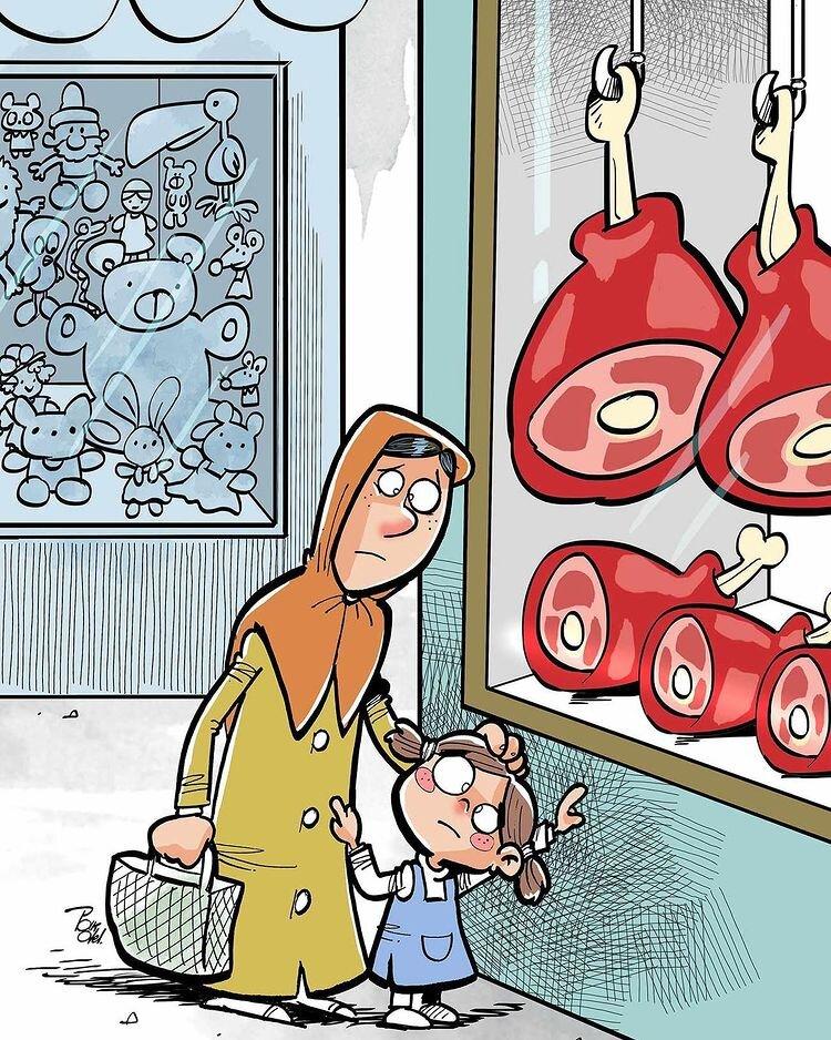 ببینید: گوشتهایی که تو زنبیل ما جا نمیشه!