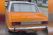 ببینید | پیکان تاکسی خطی تهران در لسآنجلس