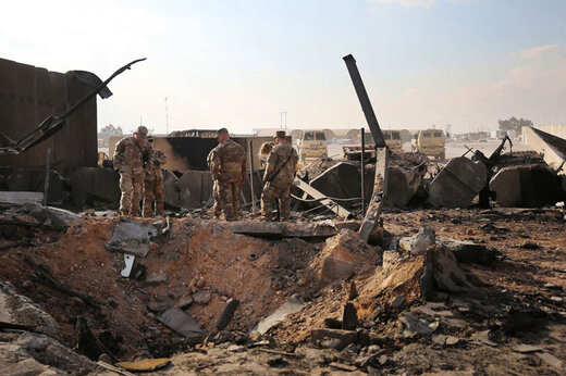 ببینید | ۳ نظامی آمریکایی در عین الاسد کشته شدند