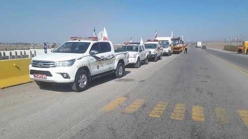 مانور روز بدون حادثه در راههای استان قزوین
