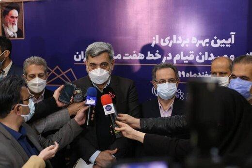 آیین افتتاح ایستگاههای مترو قیام و دولاب در تهران