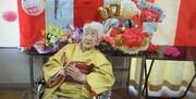مسن ترین فرد جهان حامل مشعل المپیک شد