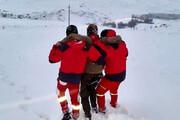 ببینید | نجات پنج کوهنورد گرفتار در ارتفاعات توچال
