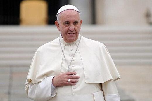 ببینید | لحظه ورود پاپ فرانسیس رهبر کاتولیکهای جهان به عراق
