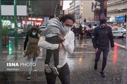 امروز و فردا در این استانها باران میبارد<br>