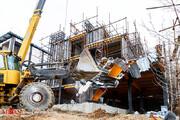 تصاویر | آغاز تخریب ساخت و سازهای غیر قانونی در کلاک