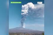ببینید | دهمین فوران کوه آتشفشان «آتنا» در جنوب ایتالیا