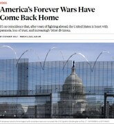 فارن پالیسی: ماجراجوییهای خارجی آمریکا مشکلات امنیتی در داخل به وجود آورده است