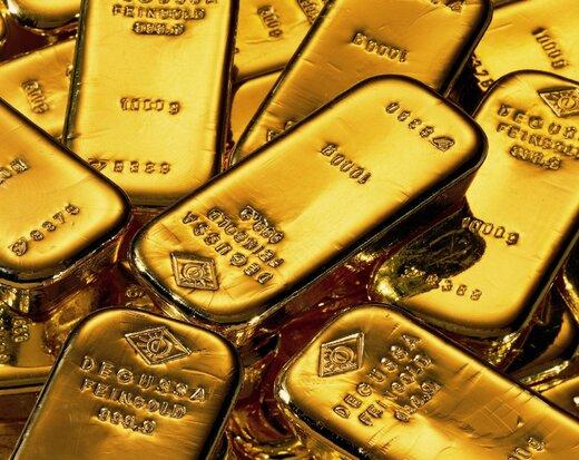 تثبیت قیمت جهانی طلا در بالاترین سطح یک ماهه