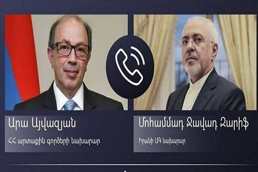 Zarif, Armenian counterpart discuss regional security