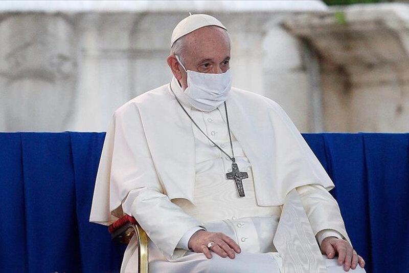 یک ملاقات خاص از سوی پاپ با کسی که دنیا به مصیبت او گریست/عکس