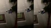 ببینید | حمله بیرحمانه مرد خشمگین ترکیهای به همسرش پیش چشمان کودک