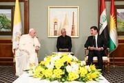 پاپ:اقلیم کردستان خانه مسیحیان شده است/عکس