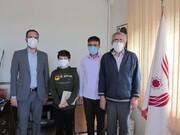 آزادی زندانی توسط نوجوان ۱۳ ساله همدانی