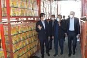بازدید سرزده استاندار آذربایجانغربی از روند توزیع مرغ و روغن در ارومیه
