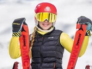 خداحافظی تاثر برانگیز دختر اسکی باز ایران از تیم ملی