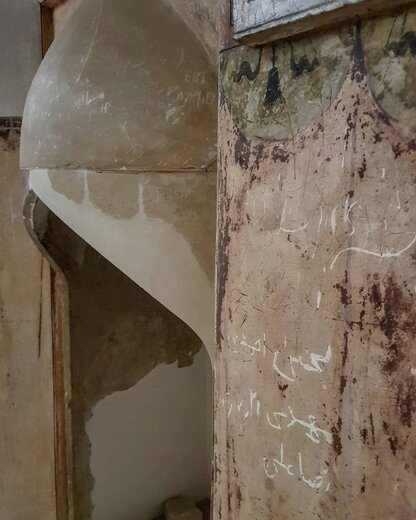 تخریب آثار باستانی به دست مردم