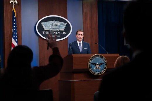سخنگوی پنتاگون به سوال درباره وقوع درگیری ایران و اسرائیل پاسخ نداد