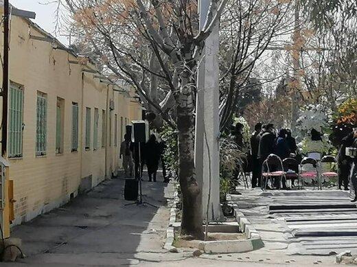 علیاصغر آزادان به خاک سپرده شد