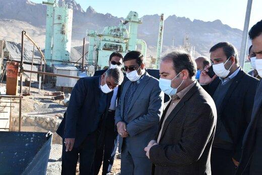 خط تولید شن شسته در کارخانه آسفالت شهرداری شهرکرد راهاندازی شد
