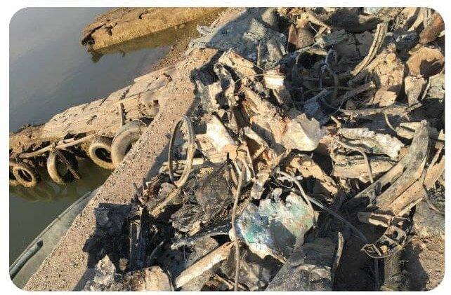 این خلبان ارتش، بر فراز دریاچه ماهی هدف موشک قرار گرفت+عکس