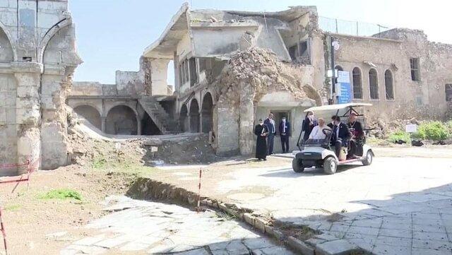 حاشیههای سفر پاپ در عراق