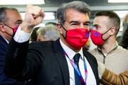 لاپورتا رئیس جدید بارسلونا شد